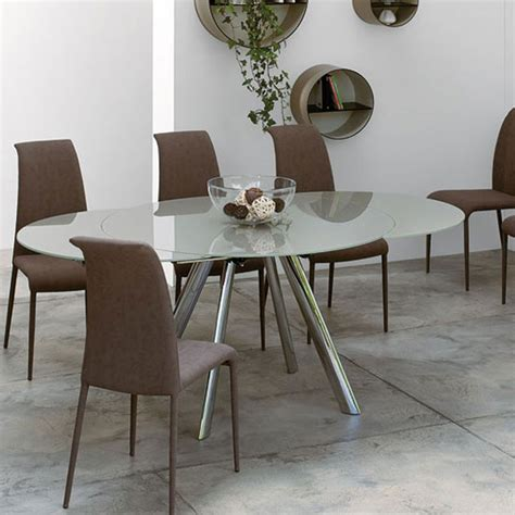 peressini cassa myles extending glass dining table