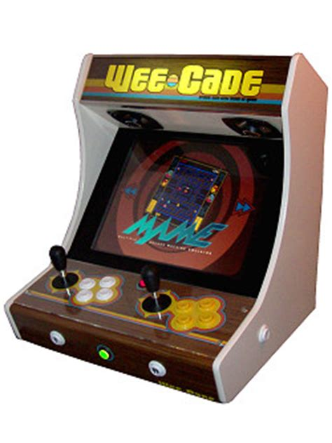 mame cabinet plans lcd project mame weecade building a mame cabinet bartop