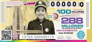 loteria nacional premio mayor 31 de diciembre 2019