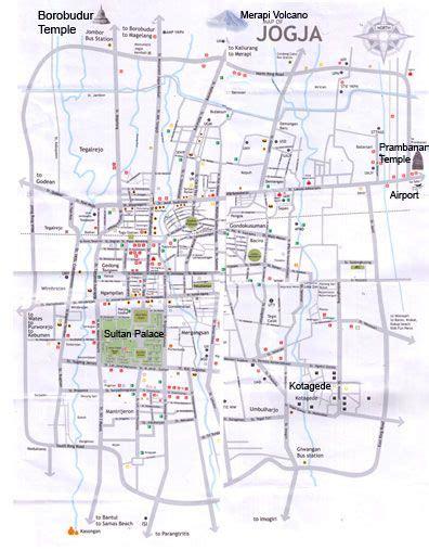 yogyakarta map yogyjakarta pinterest yogyakarta
