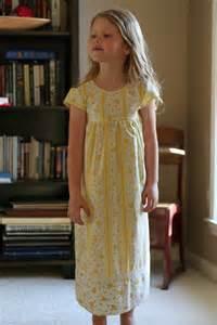Little Girl Nightgown Patterns