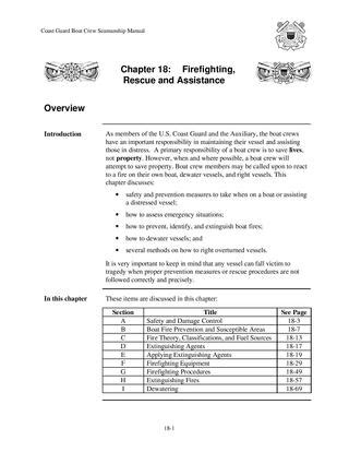Boat Crew Seamanship Manual by Us Navy Firefighting Reference By Jchance Issuu