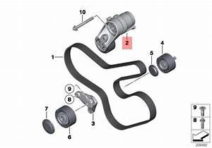 Genuine Bmw E70n E71 F01n F02n F06 Mechanical Belt