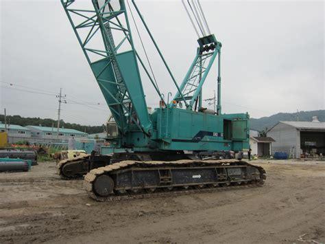 ton ihi crawler crane cch year stockfb bulldozers excavators mini