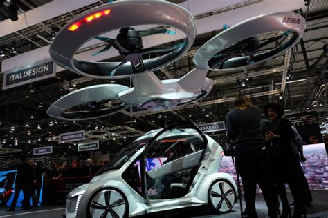 Audi Flying Car by Italdesign Airbus And Audi Pair Up For The Next Flying