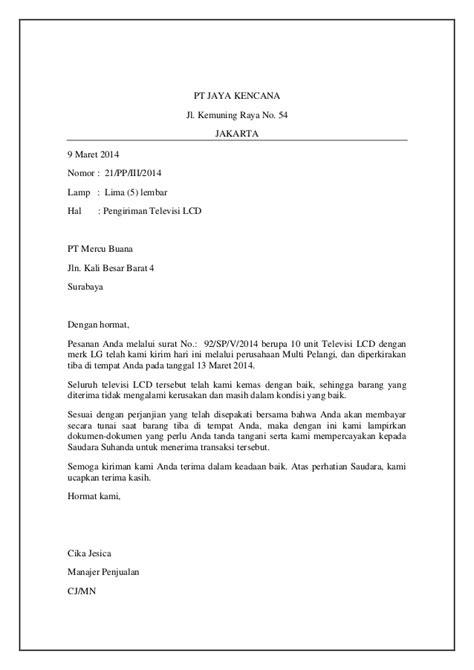 Contoh Surat Lamaran Kerja Waitress Bahasa Indonesia - Contoh Fine