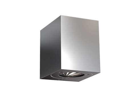 dftp nordlux canto kubi outdoor wall light stainless steel