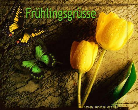 fruehlingsgruesse fruehling bild  gbpicsonlinecom