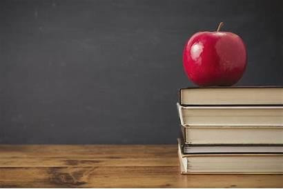 Education Health Chalkboard Teacher Background Apples Eschool