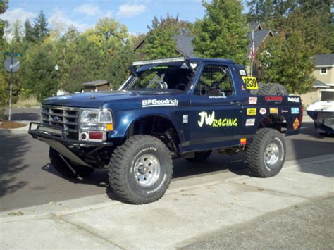 prerunner race truck ford bronco desert race truck or prerunner
