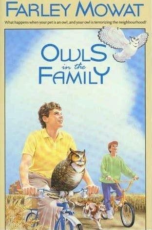 owls   family  farley mowat