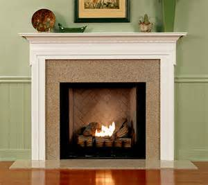 Wood Plank Fireplace Mantels