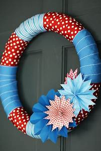 Easy Cover Letters Festive July 4th Diy Wreaths Easy Simple Inspired