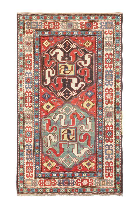 asta tappeti tappeto caucasico kazakh chondoresk xix secolo tappeti