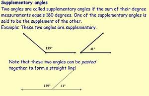 Miss Kahrimanis U0026 39 S Blog  Complementary And Supplementary Angles