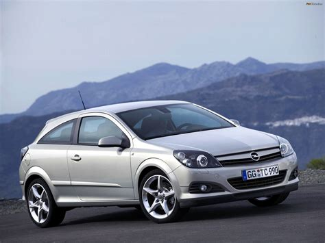 Opel Astra 2005 by Images Of Opel Astra Gtc H 2005 11 2048x1536