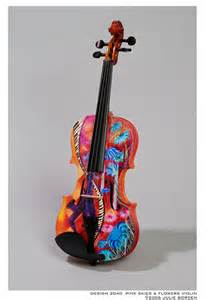 Custom-Painted Violins