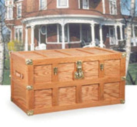 steamer trunk plans wood woodworking projects plans
