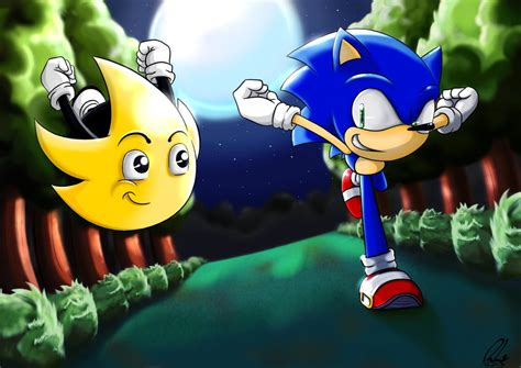 Sonic And Ristar By Karutobi On Deviantart