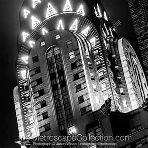 Black and White Photos of The Top of the Chrysler Building ...