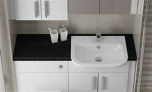 white gloss bathrooms fitted furniture from mallard With fitted bathroom furniture white gloss