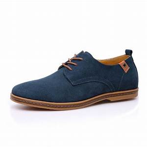 Mens New Faux Suede Lace Up Casual Formal Office Work Lace Up Brogues Shoes Size eBay