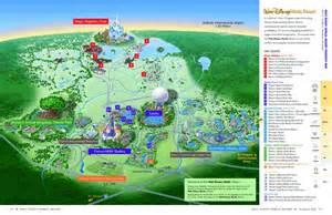 2017 Walt Disney World Resort Map