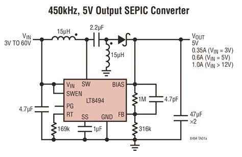 ltc adds sepicboost dc dc converter
