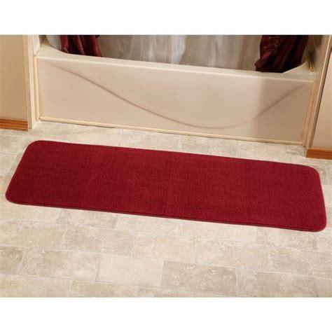 bathroom rug runner long bath mat rugs