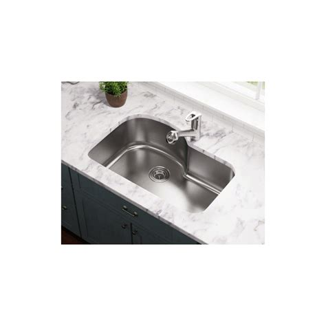 undermount offset single bowl sink polaris p643 undermount offset single bowl stainless steel