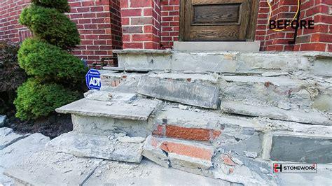 Stones Toronto by Entrance Stairs Toronto Stonework Stoneworks
