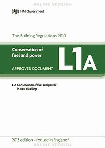changes to approved documents part l in 2014 With part a approved documents