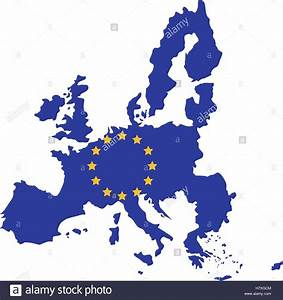 European union map icon. Europe eu country national and ...