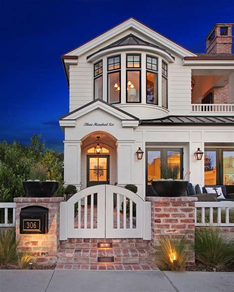 california house with modern coastal interiors
