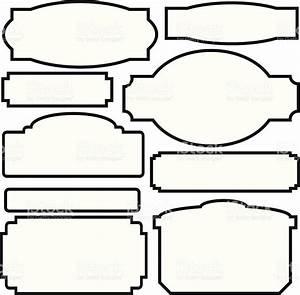 mon Sign Shapes stock vector art
