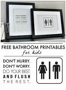 Free bathroom printables kid for kids and printables for Funny words for bathroom