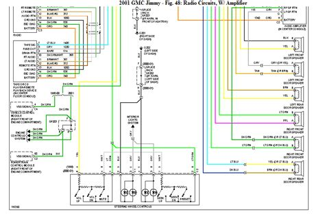 2007 Gmc Wiring Diagram Radio by I Need A Gmc Jimmy Edition Wiring Diagram For The