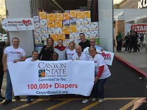 Canyon State Credit Union Donates over 150,000 diapers to ...