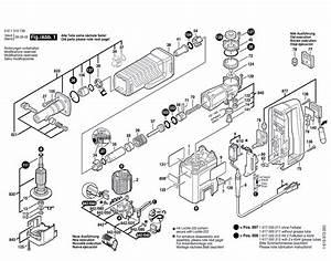 Bosch 11310evs  0611310739  Parts List