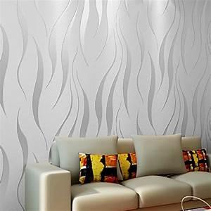 Tapeten Modern Schlafzimmer : tapeten wohnzimmer modern grau ~ Markanthonyermac.com Haus und Dekorationen