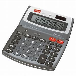 Staples Calculatrice De Bureau 560 12 Chiffres JPG
