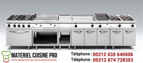 machine de cuisine professionnel matériels cuisine pro maroc équipement chr restaurants