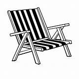 Chair Coloring Drawing Chairs Deck Lounge Ocean Lawn Umbrella Liegestuhl Colouring Sheets Dwg Desk Bw Malvorlagen Fensterbilder Getdrawings sketch template