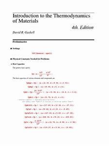 Gaskell Manual Solution  4th Edition