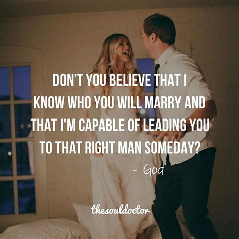 The Right For Me by Trust God That If You Are Praying For Your Future Spouse