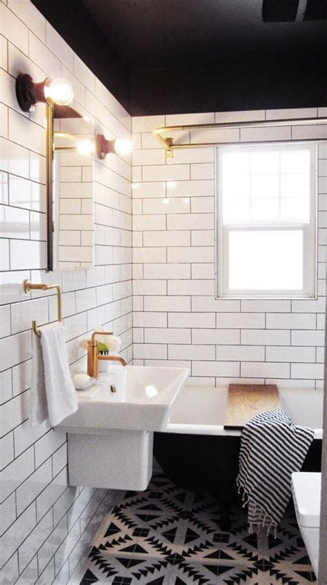 bathroom tile ideas black and white 25 classic black and white bathroom tile ideas and pictures