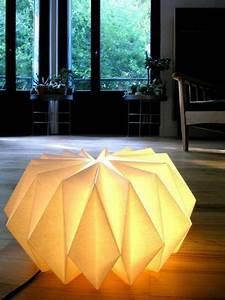 Origami Lampe Anleitung : origami lampenschirm anleitung f r bastler aus papier pinterest ~ Watch28wear.com Haus und Dekorationen