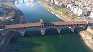 Ponte coperto di Pavia HD - YouTube