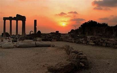 Ancient History Architecture Wallpapers Greek Background Greece
