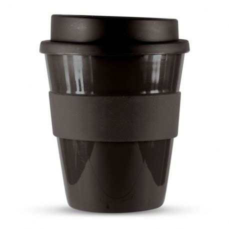 Well you're in luck, because here they come. Black 350ml Express Reusable Coffee Cups | Promotional ...